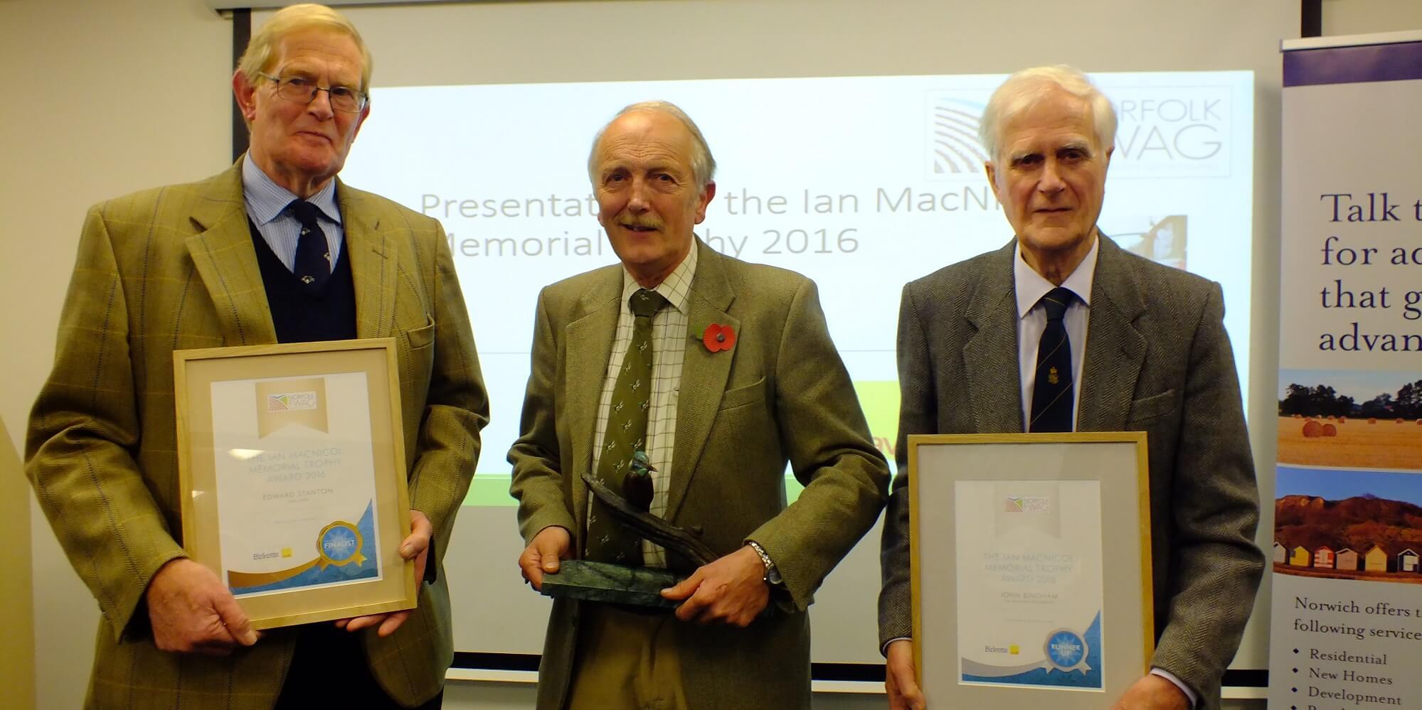 Ian MacNicol Award finalists 2016