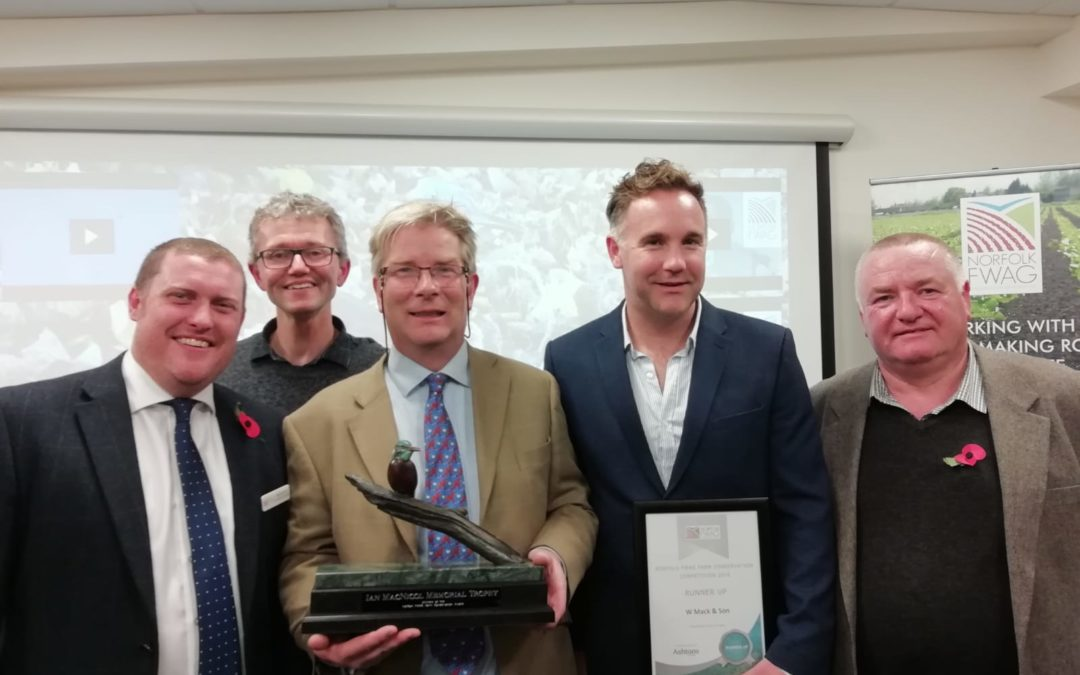 Norfolk FWAG Farm Conservation Competition Winner 2018 – Charles Inglis