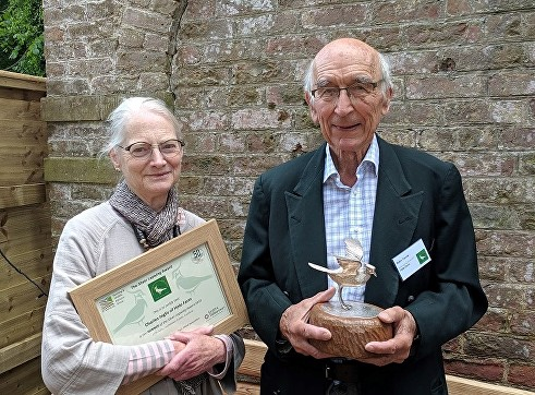 The FWAG Silver Lapwing Award 2019